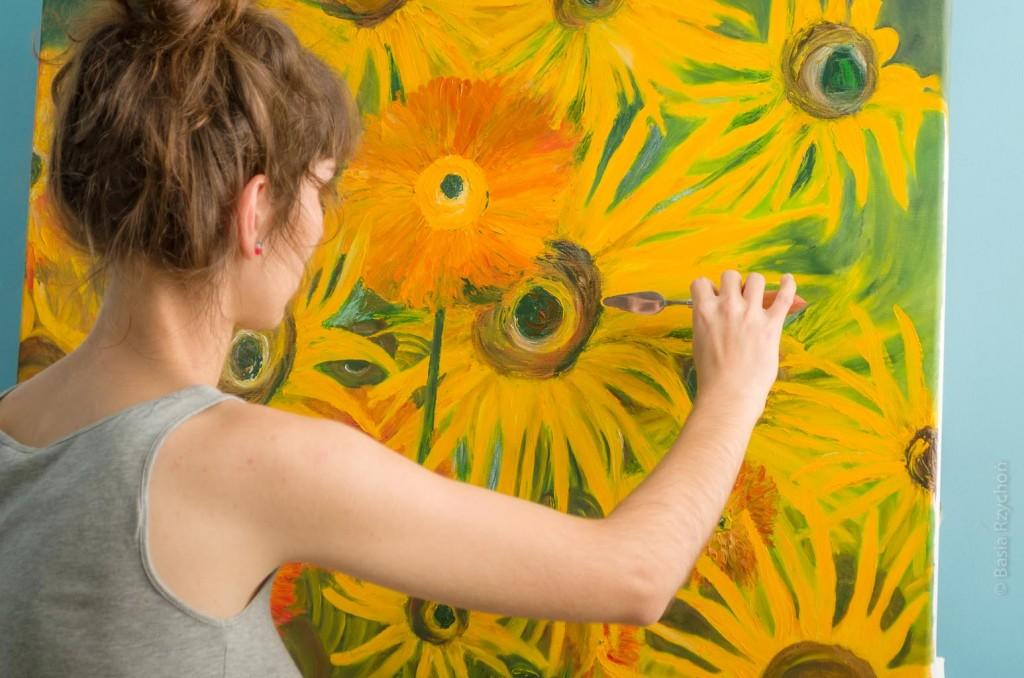 Malowanie Dzieła Wielkiego Formatu. Widzę Cię!